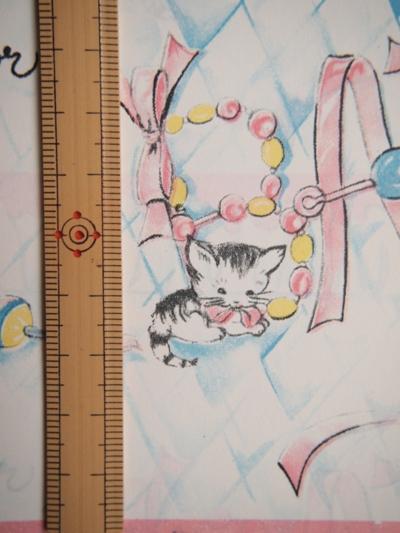 画像3: ヴィンテージラッピングペーパー2枚セット(ベビーアニマル)