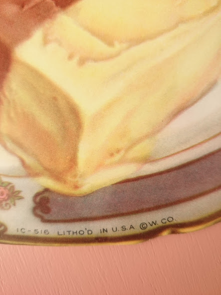 画像3: ヴィンテージ フードサイン(ケーキ)
