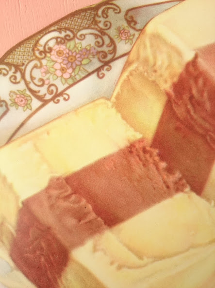 画像2: ヴィンテージ フードサイン(ケーキ)