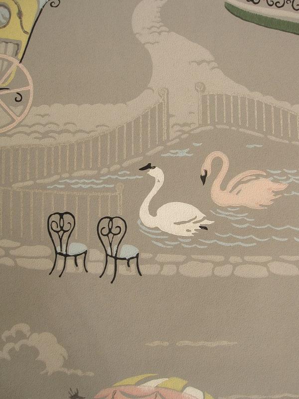 画像4: ヴィンテージ壁紙(公園)