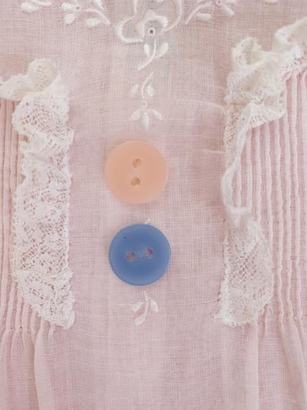 画像2: ヴィンテージボタン2つ
