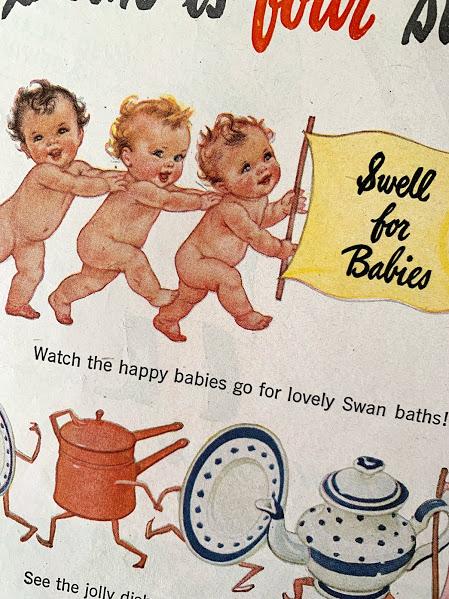 画像1: ヴィンテージ広告 Baby