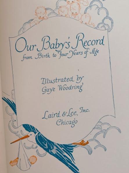 画像1: Our Baby's Record Book