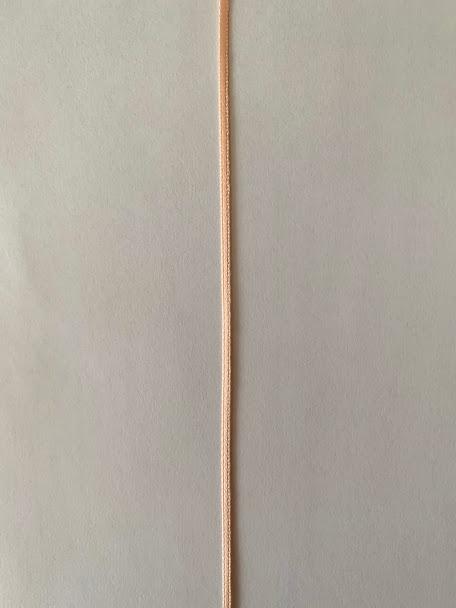 画像3: ダブルサテンリボン(ピーチ幅2mm)