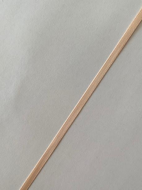 画像2: ダブルサテンリボン(ピーチ幅4mm)